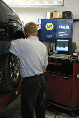 Wheel alignment Cloverdale CA Automotive & Tire auto repair shop