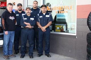 Mechanics at Cloverdale Automotive & Tires in Cloverdale, CA